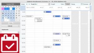 przejrzysty kalendarz i zadania